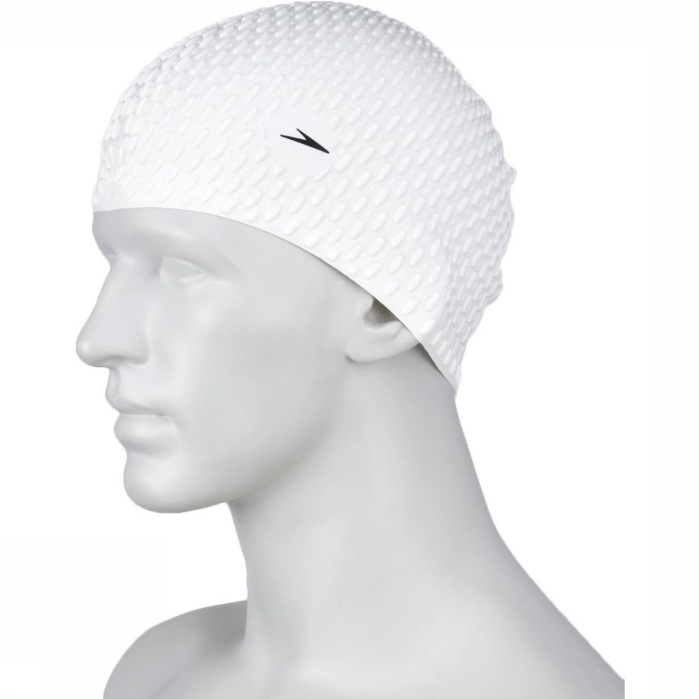 Speedo Badmuts Swimcaps Bubble Cap Whi P12 voor dames - Wit