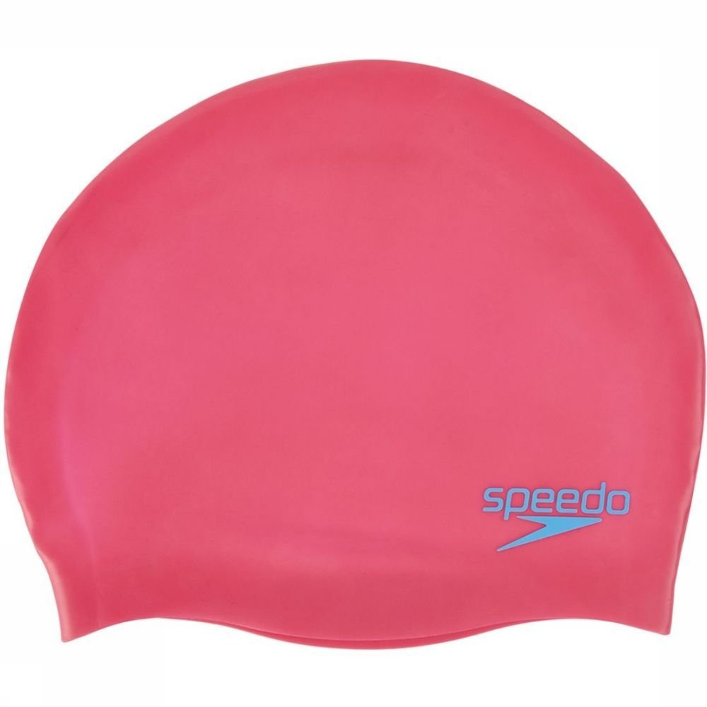 Speedo Badmuts Swimcaps Jun Moulded voor kids - Roze