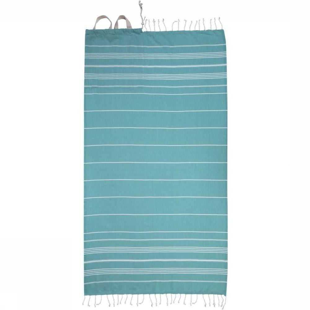 Protest Strandhanddoek Sleek voor dames - Blauw