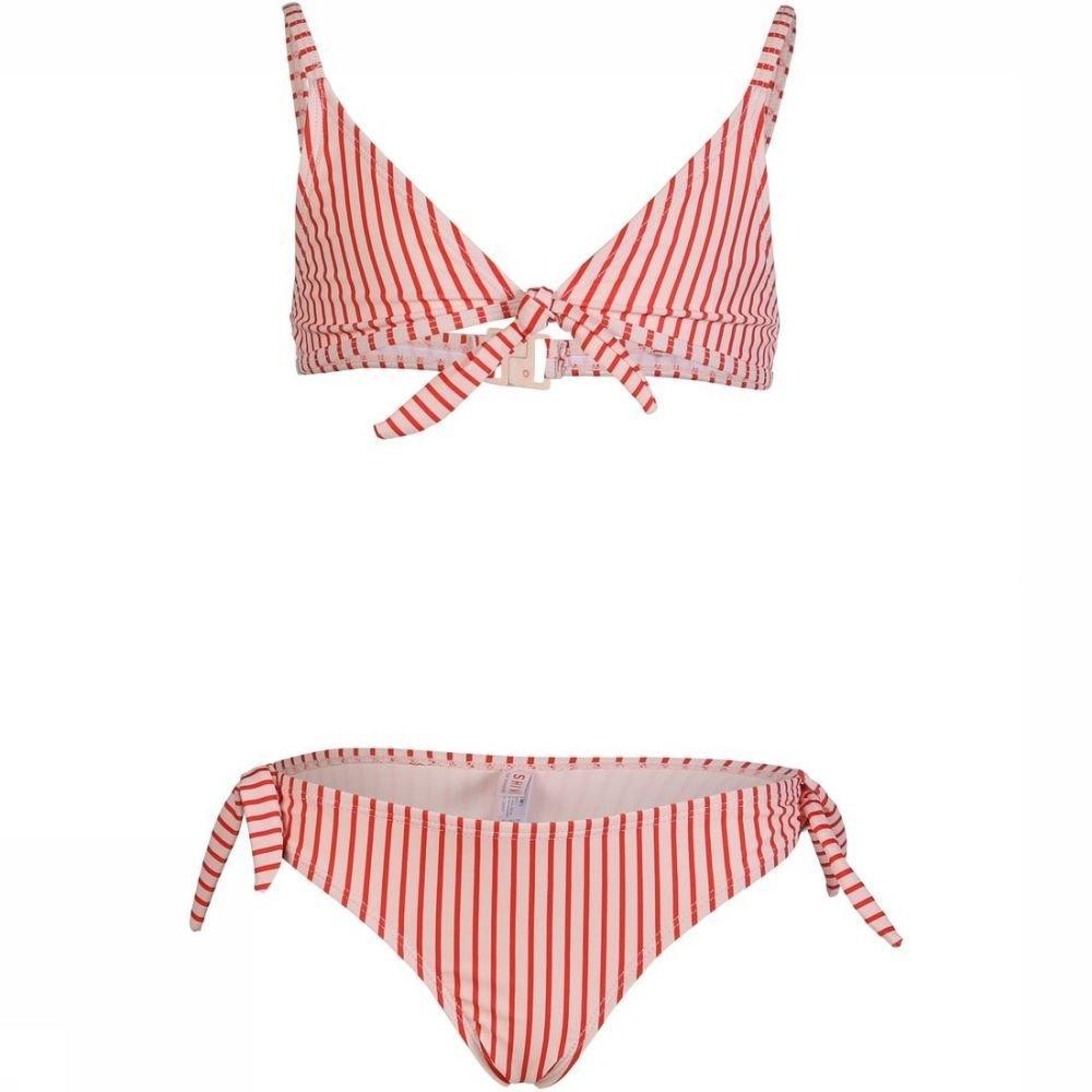 Shiwi Bikini Trangle Bora Bora Stripe voor meisjes - Wit/Rood - Maten: 128, 140, 152, 164, 176