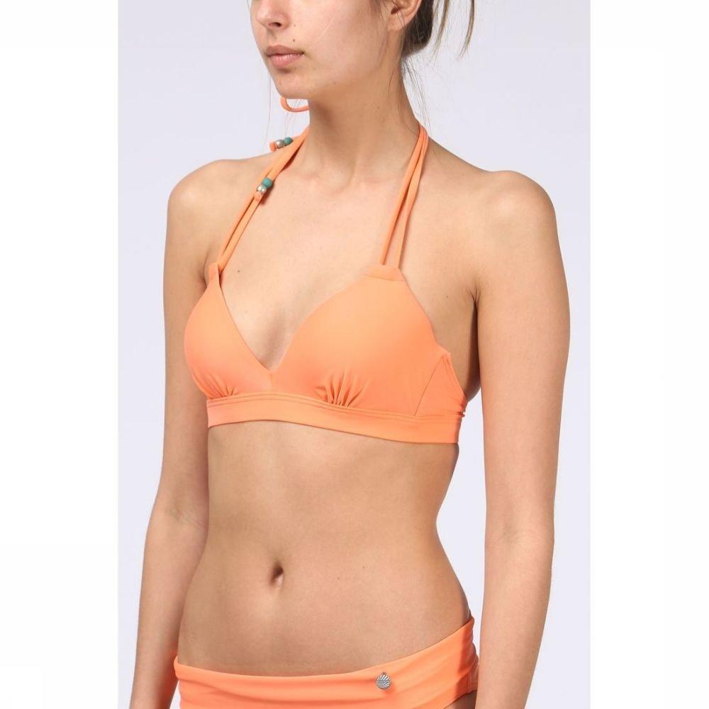Afbeelding van Beachlife Bh Padded Underwire Halter voor dames - Oranje