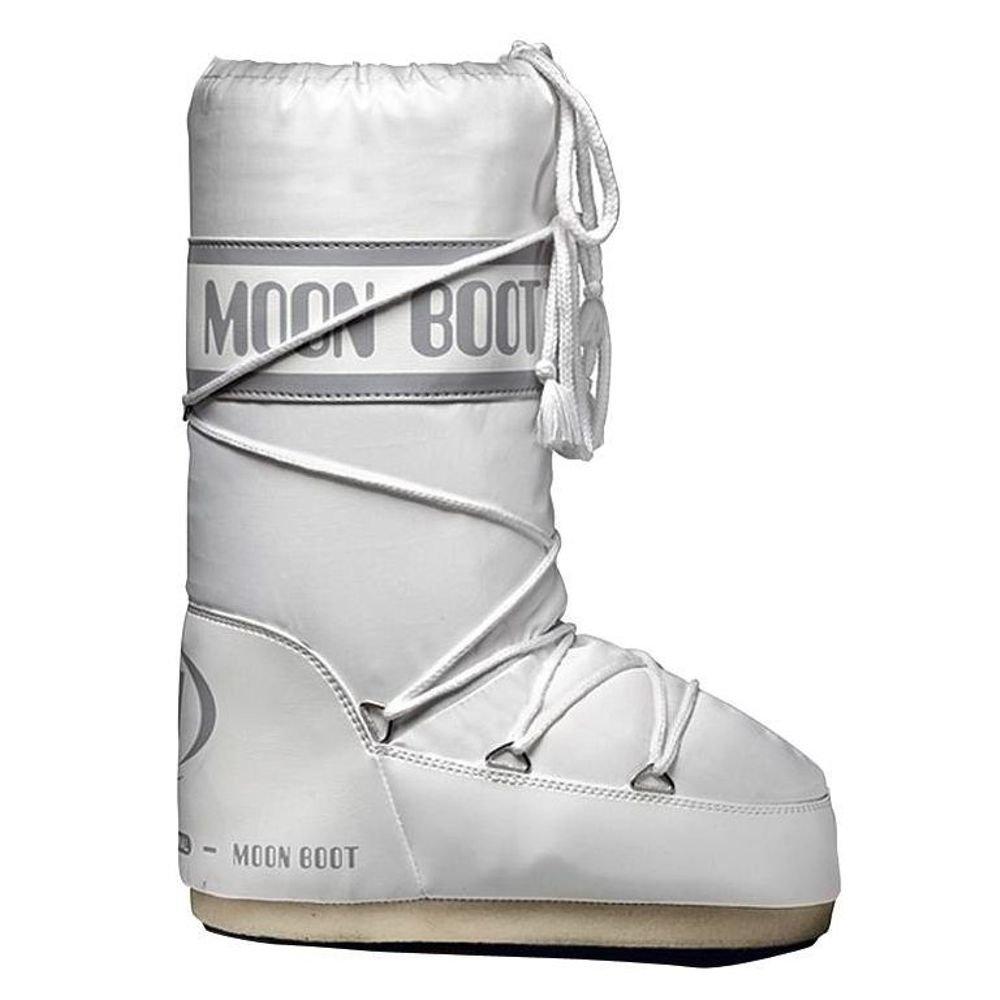 Moon Boot Moon Boot Nylon Orignal Pour Les Hommes - Blanc zrQ9GMDBZd