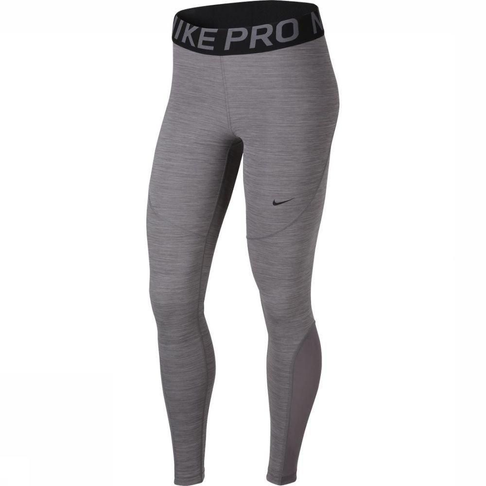 Nike Legging Nike Pro voor dames - Grijs - Maat: L