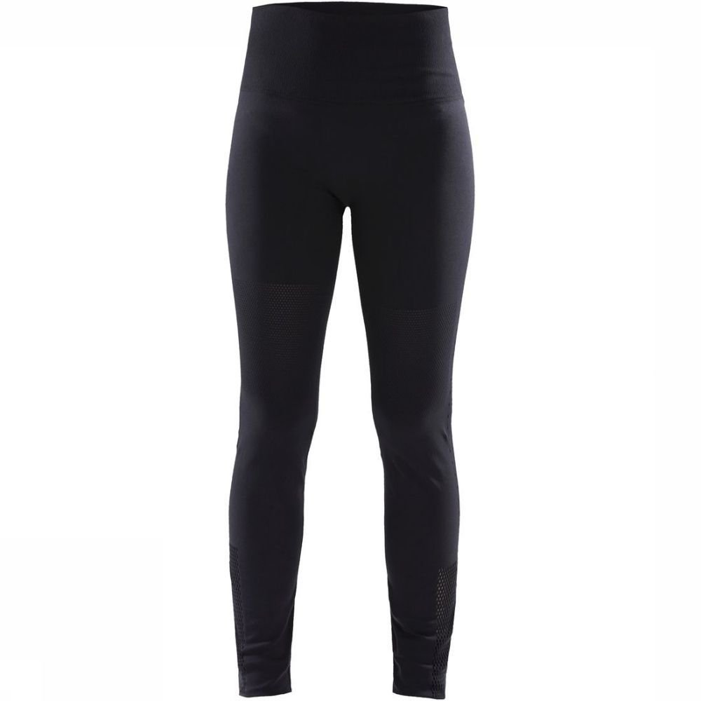 Craft Legging Untmd Warpknit voor dames - Zwart - Maten: S-M, L-XL