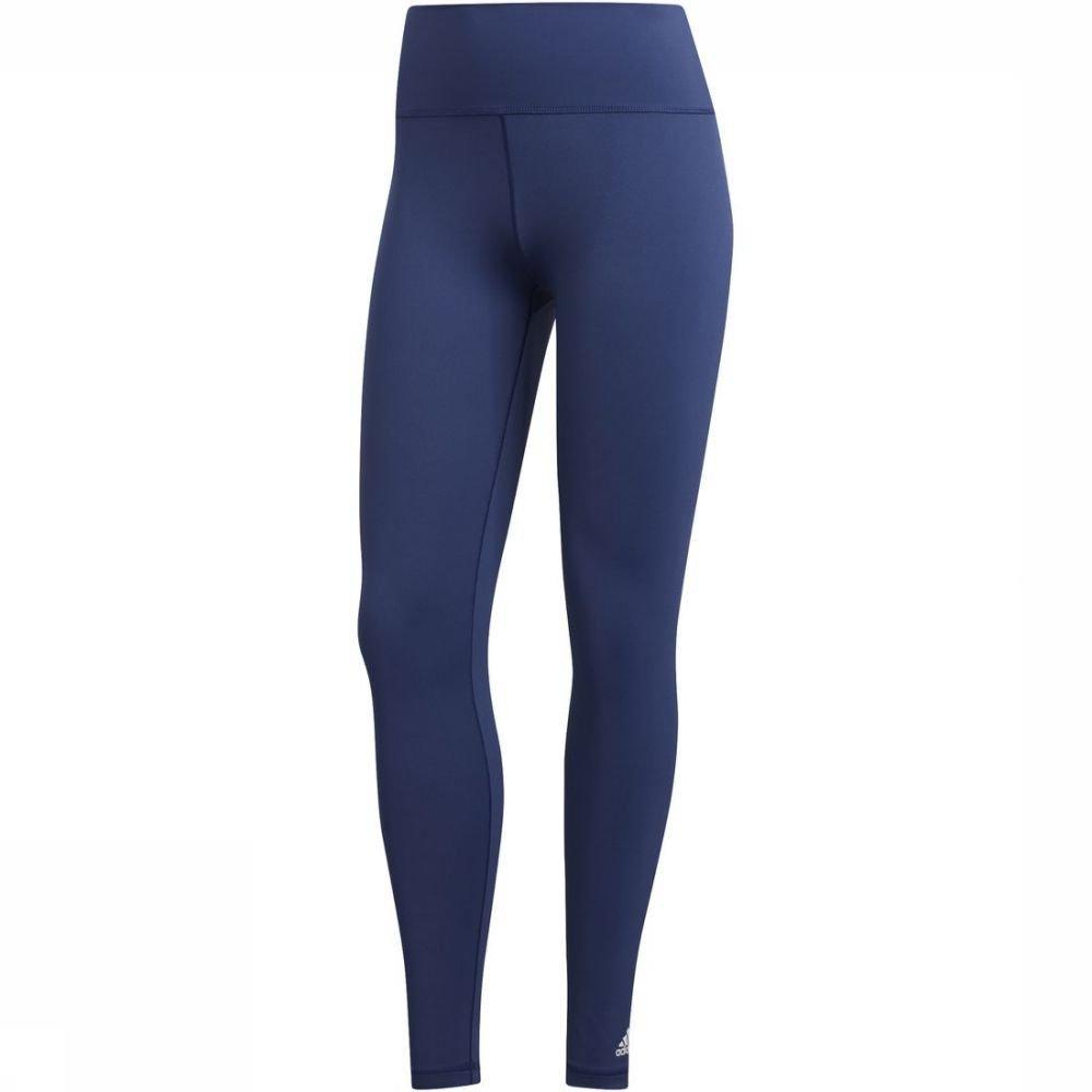 adidas Legging Bt Long T voor dames - Blauw - Maten: S, M - Nieuwe collectie